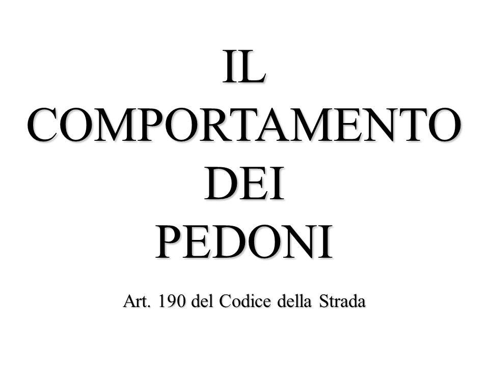 Art. 190 del Codice della Strada