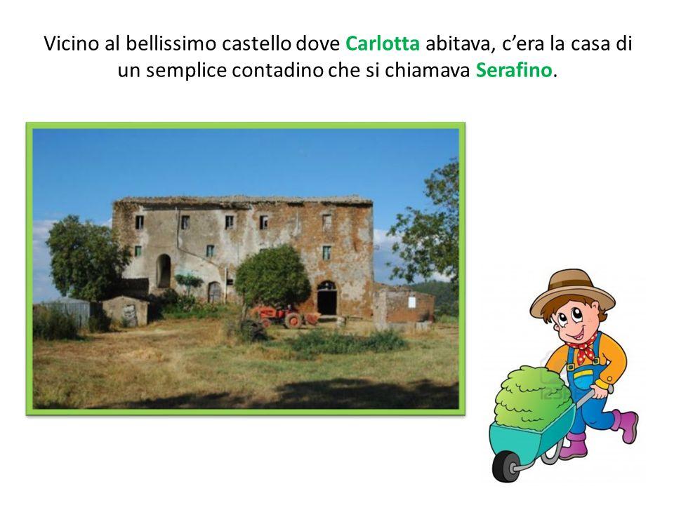 Vicino al bellissimo castello dove Carlotta abitava, c'era la casa di un semplice contadino che si chiamava Serafino.