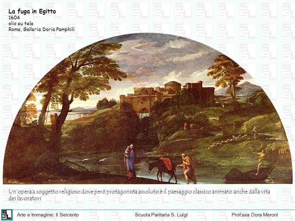 La fuga in Egitto 1604. olio su tela. Roma, Galleria Doria Pamphili.