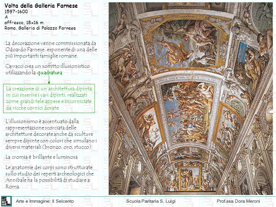 Volta della Galleria Farnese