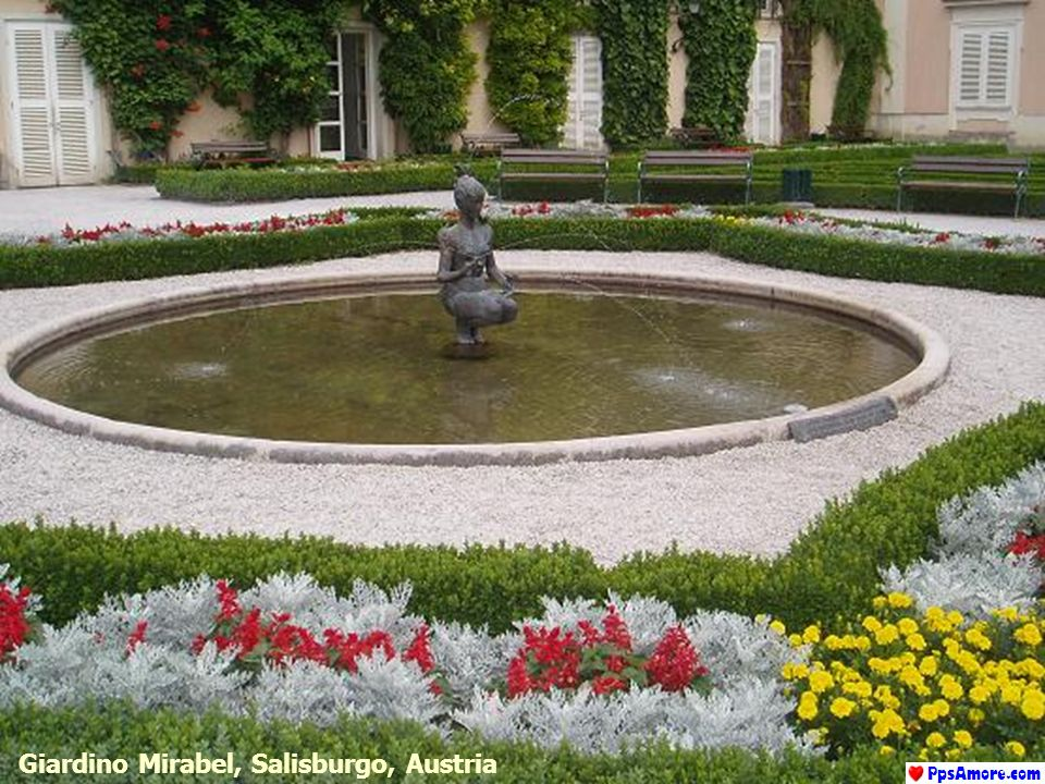 Giardino Mirabel, Salisburgo, Austria