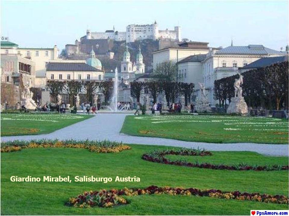 Giardino Mirabel, Salisburgo Austria