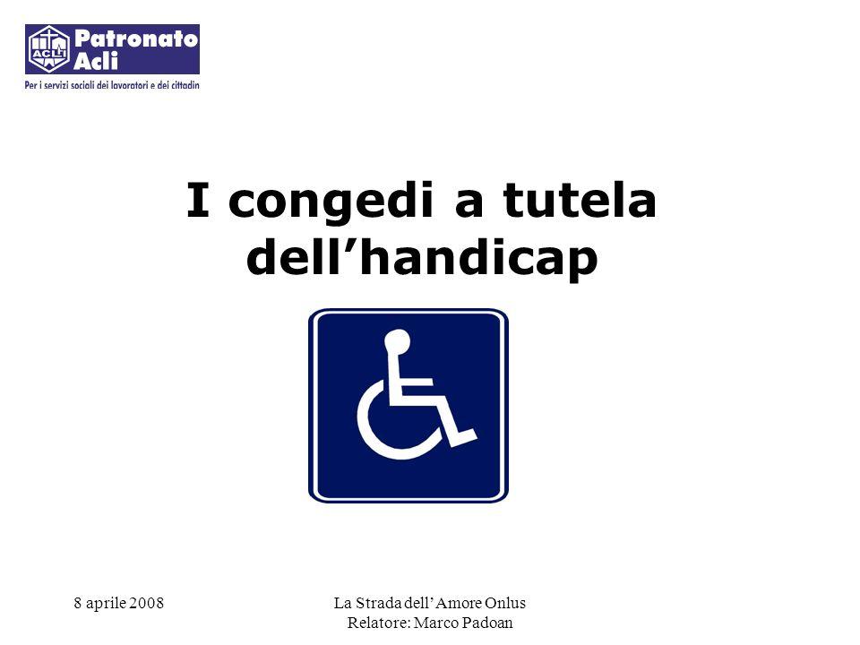 I congedi a tutela dell'handicap