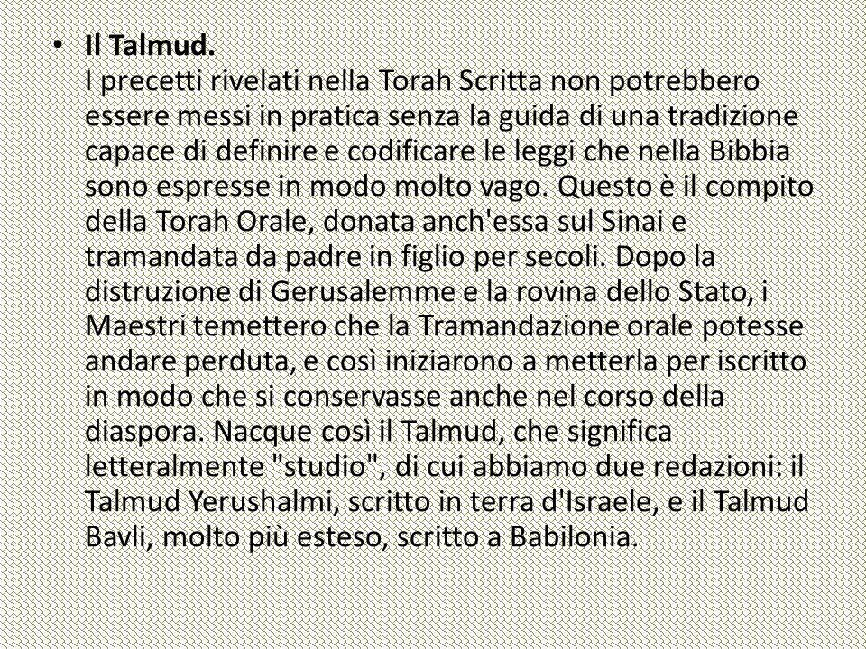 Il Talmud.
