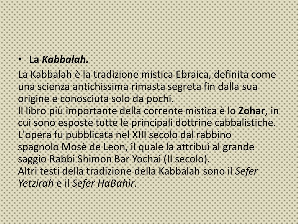 La Kabbalah.