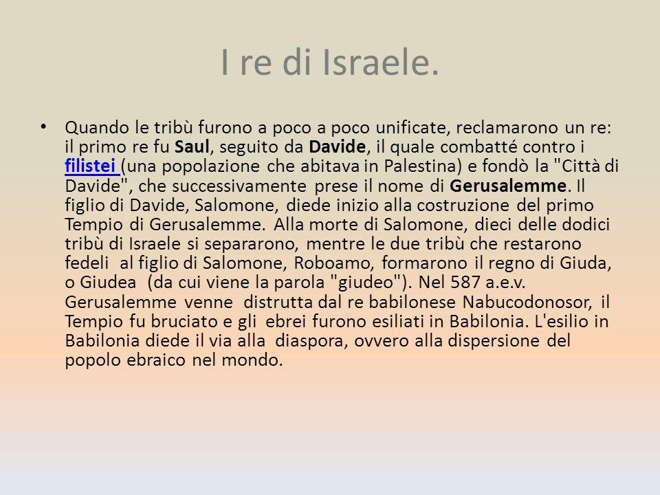 I re di Israele.