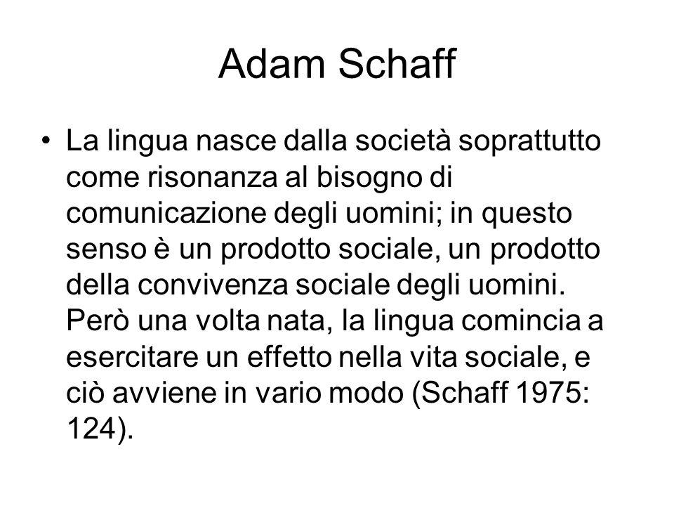 Adam Schaff
