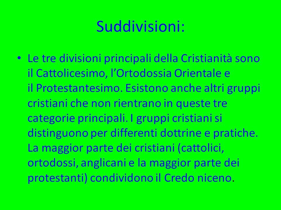 Suddivisioni:
