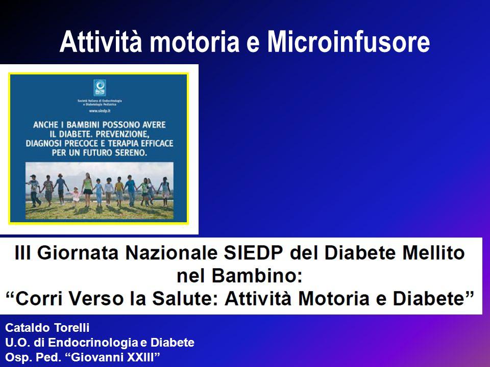 Attività motoria e Microinfusore
