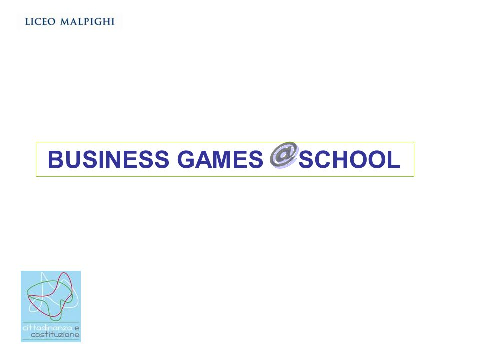 @ BUSINESS GAMES SCHOOL
