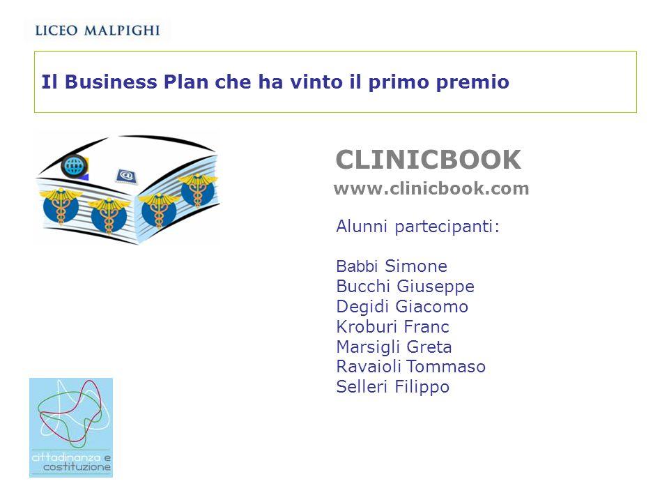 Il Business Plan che ha vinto il primo premio