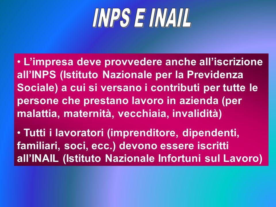 INPS E INAIL