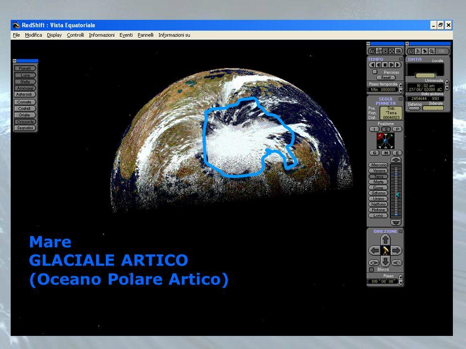 Mare GLACIALE ARTICO (Oceano Polare Artico)