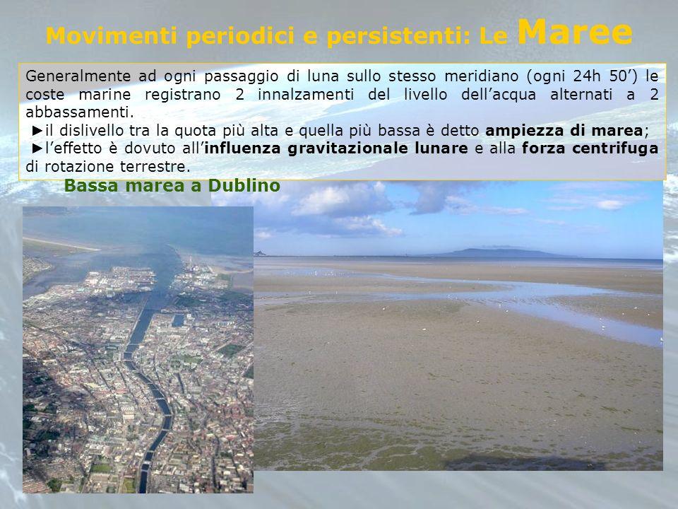 Movimenti periodici e persistenti: Le Maree