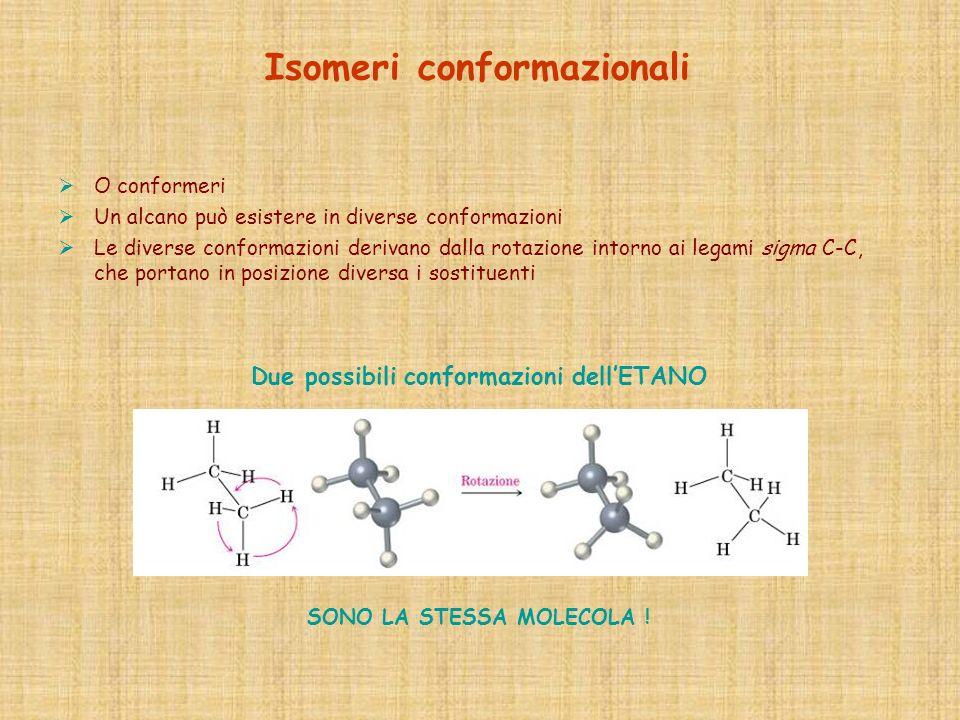 Isomeri conformazionali