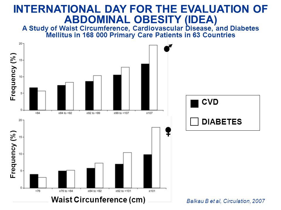 INTERNATIONAL DAY FOR THE EVALUATION OF ABDOMINAL OBESITY (IDEA)