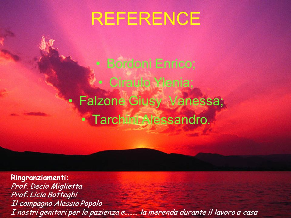 Falzone Giusy Vanessa;