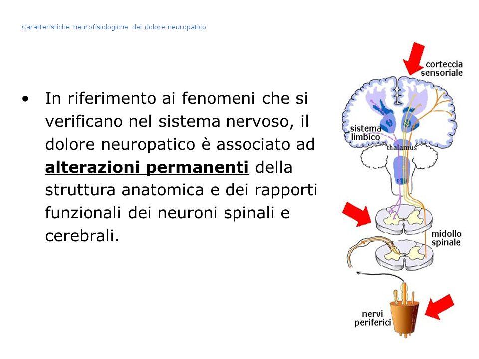 Caratteristiche neurofisiologiche del dolore neuropatico