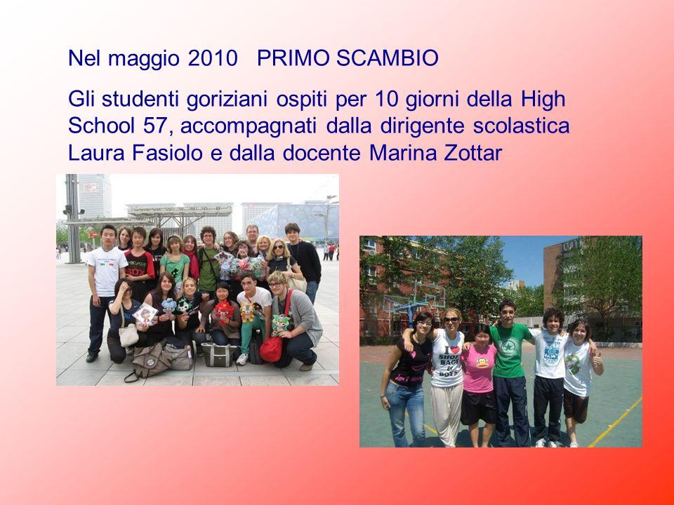 Nel maggio 2010 PRIMO SCAMBIO