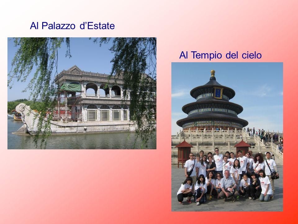 Al Palazzo d'Estate Al Tempio del cielo