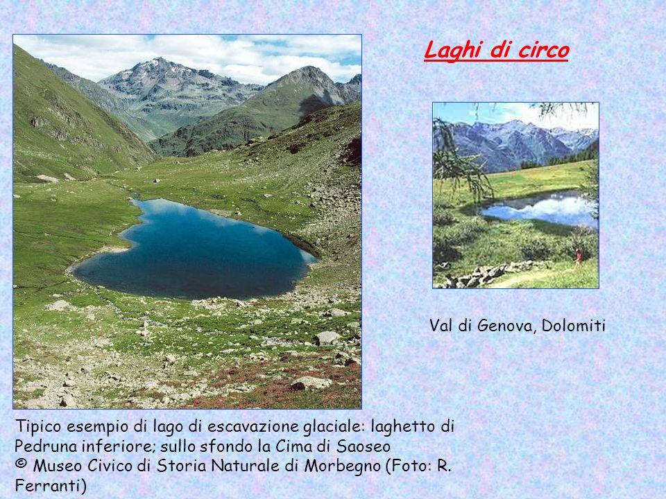 Laghi di circo Val di Genova, Dolomiti