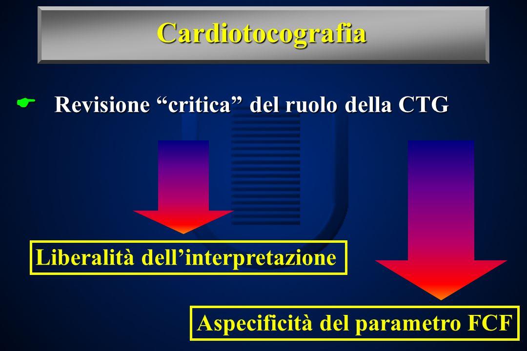 Aspecificità del parametro FCF