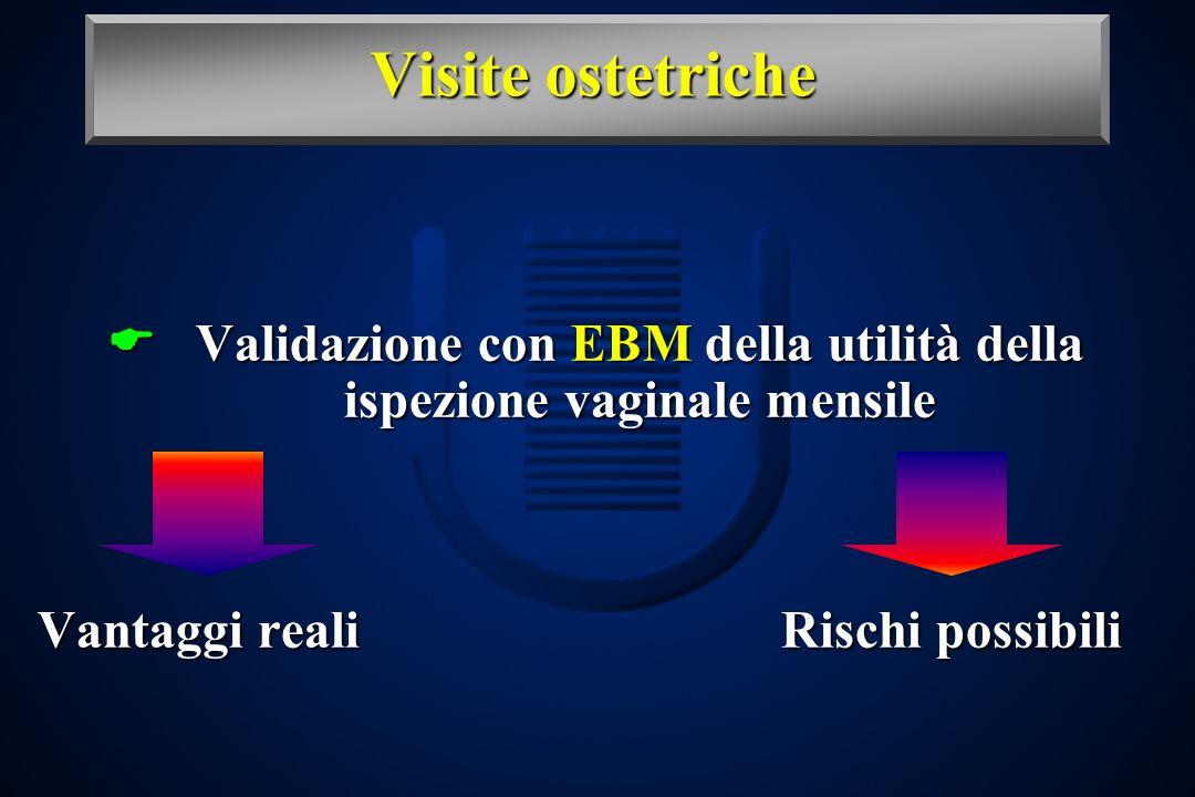 Validazione con EBM della utilità della ispezione vaginale mensile