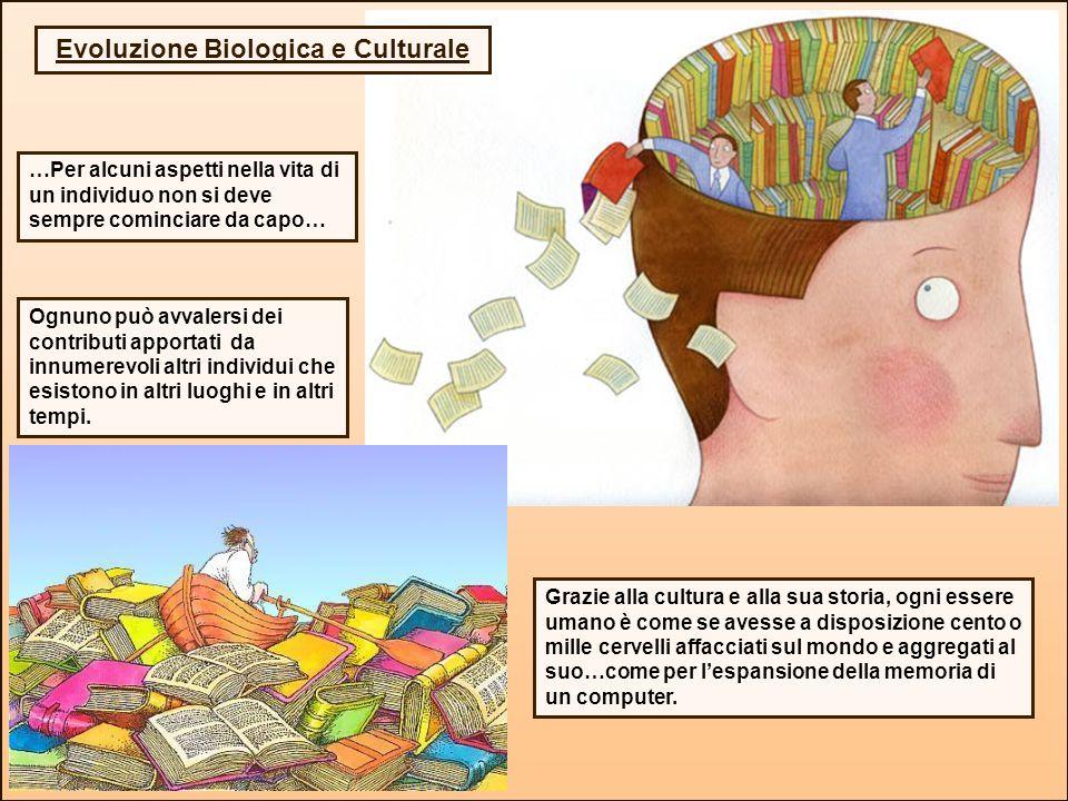 Evoluzione Biologica e Culturale