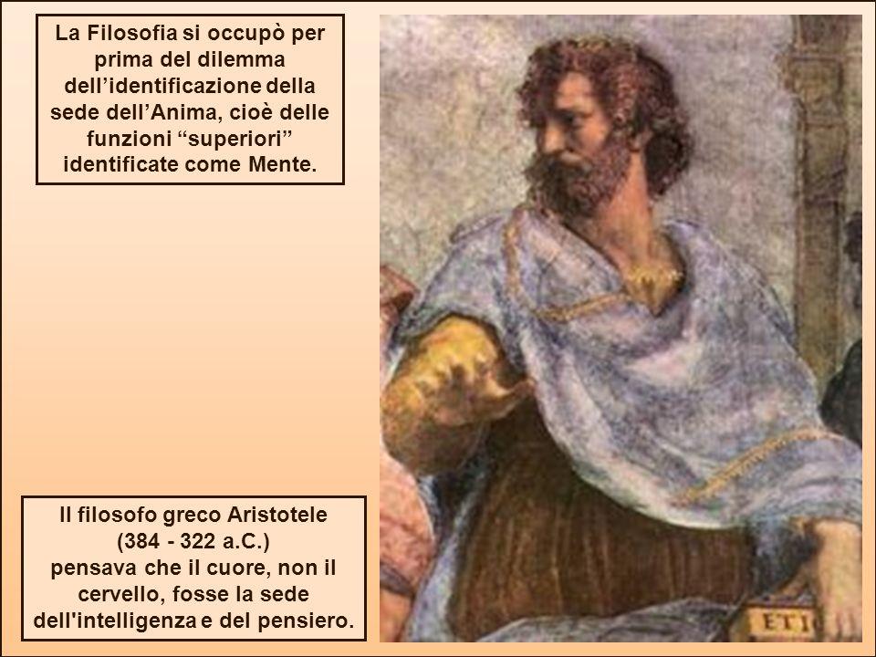 Il filosofo greco Aristotele