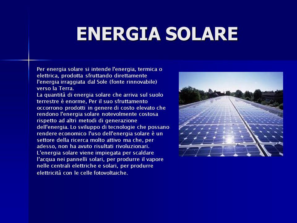 Sommario fonti rinnovabili 1 storia 2 tecnologia ppt for Filtro per laghetto ad energia solare