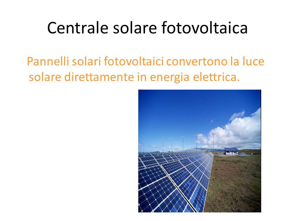 Centrale solare fotovoltaica