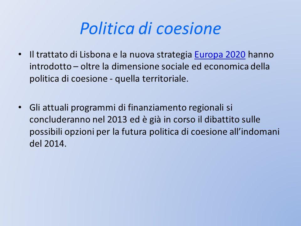 Politica di coesione