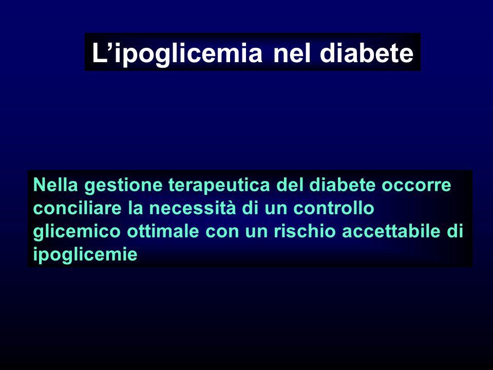 L'ipoglicemia nel diabete