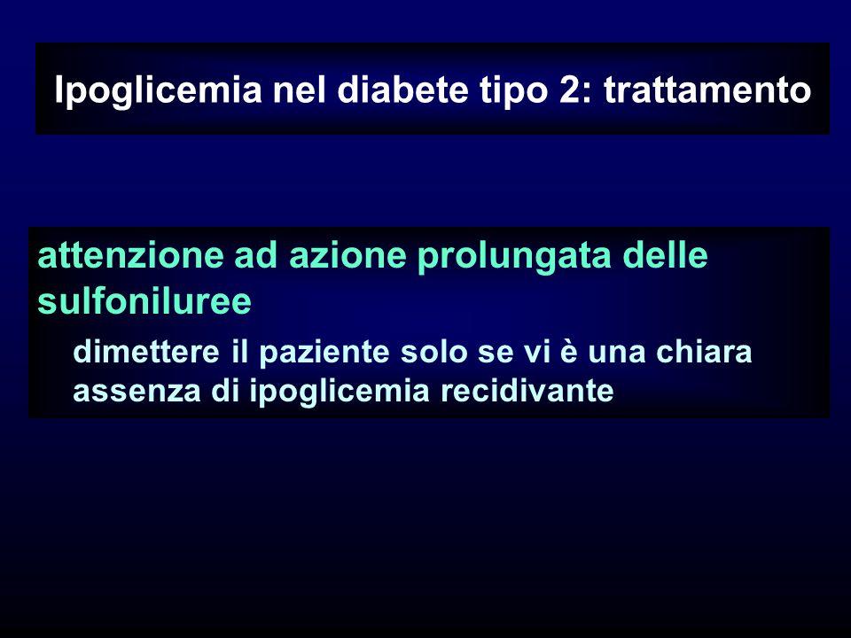 Ipoglicemia nel diabete tipo 2: trattamento