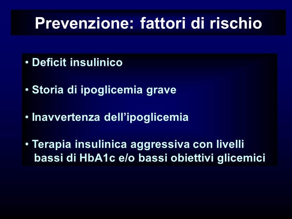 Prevenzione: fattori di rischio