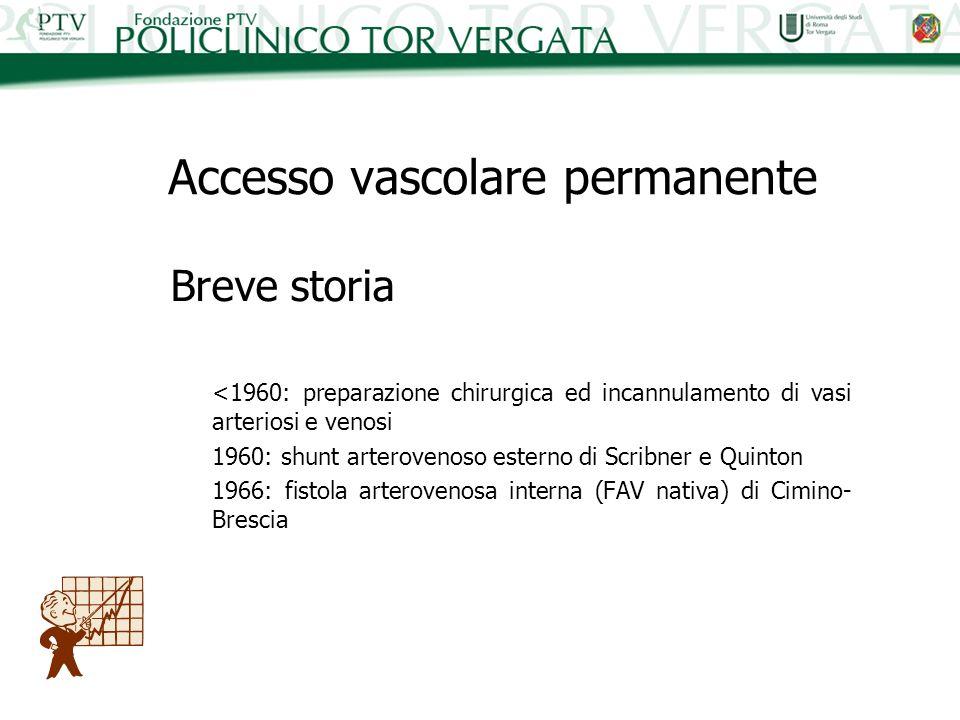 Accesso vascolare permanente