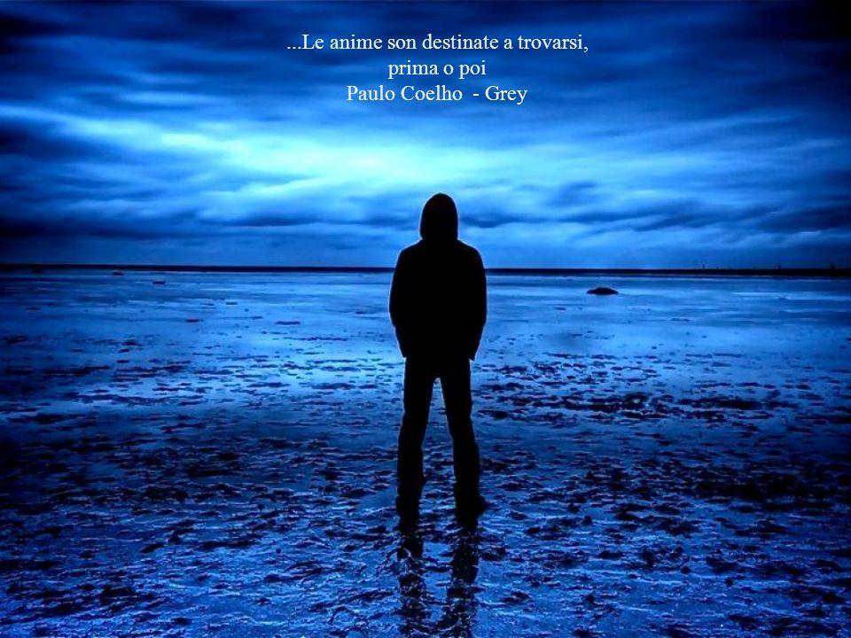 ...Le anime son destinate a trovarsi, prima o poi Paulo Coelho - Grey