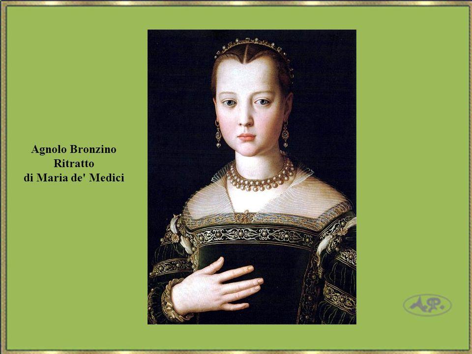 Agnolo Bronzino Ritratto di Maria de Medici
