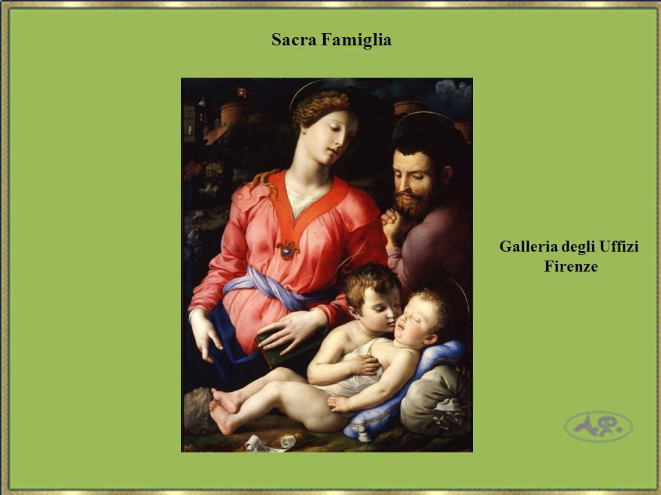 Sacra Famiglia Galleria degli Uffizi Firenze