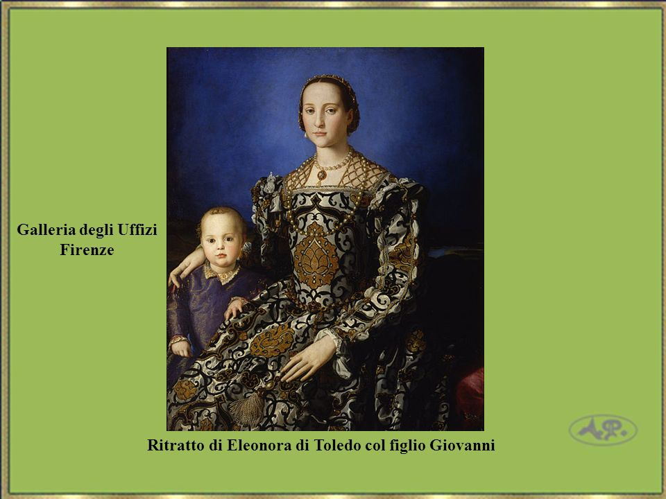 Galleria degli Uffizi Firenze Ritratto di Eleonora di Toledo col figlio Giovanni