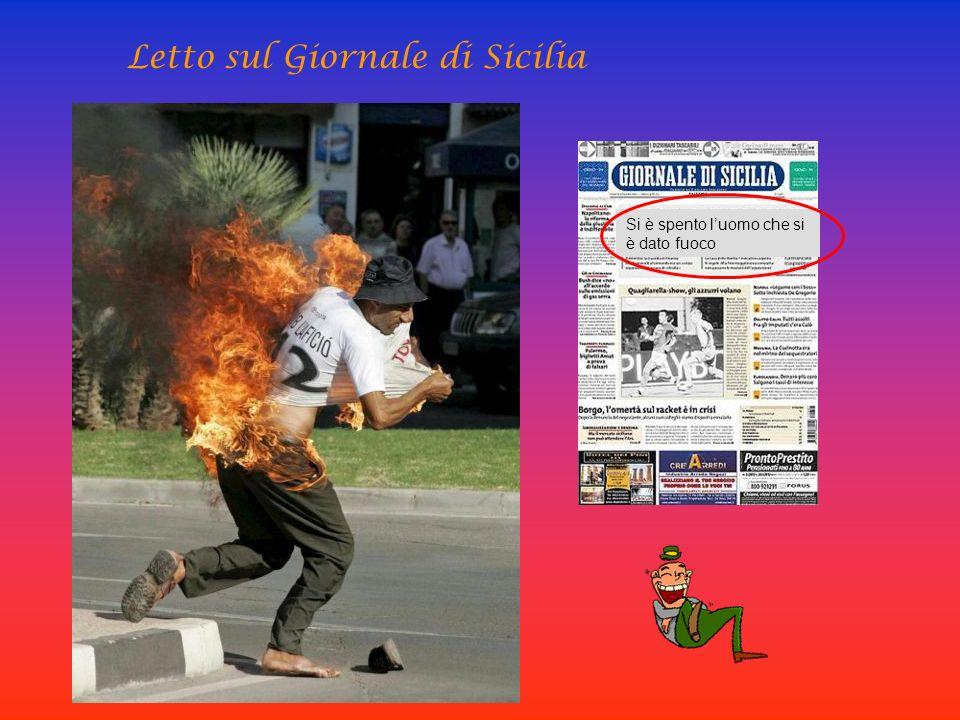 Letto sul Giornale di Sicilia