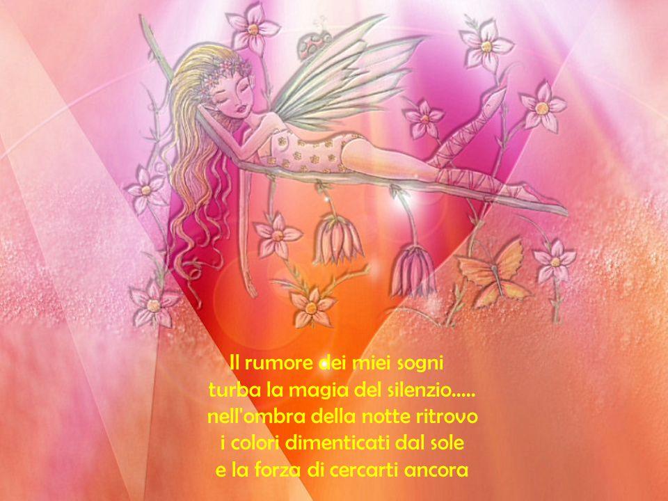 Il rumore dei miei sogni turba la magia del silenzio.....