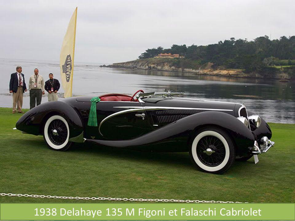 1938 Delahaye 135 M Figoni et Falaschi Cabriolet