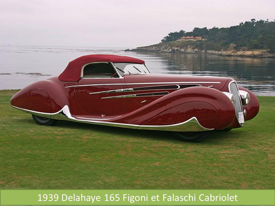 1939 Delahaye 165 Figoni et Falaschi Cabriolet