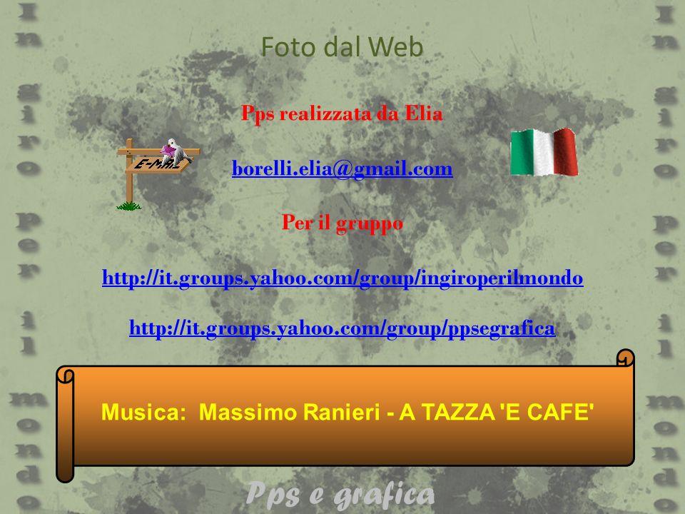 Musica: Massimo Ranieri - A TAZZA E CAFE