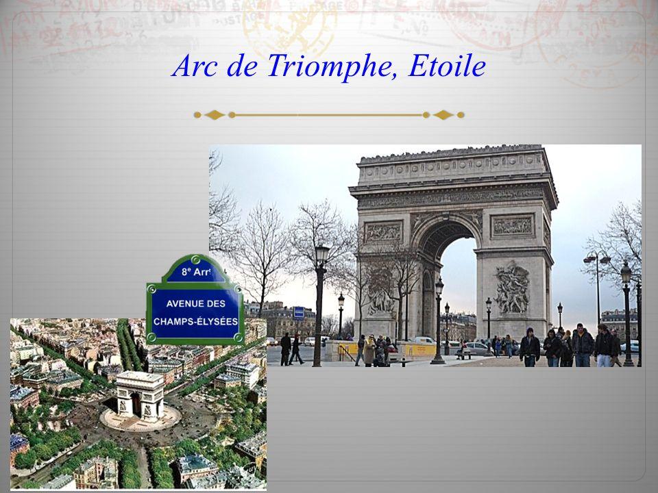 Arc de Triomphe, Etoile