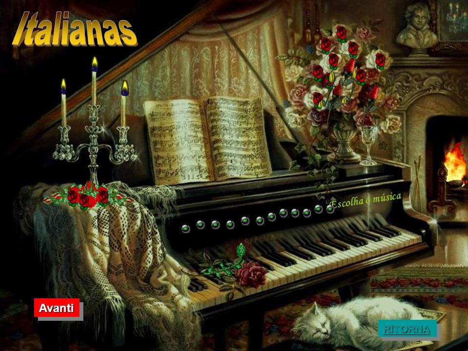 Italianas Escolha o música Avanti RITORNA
