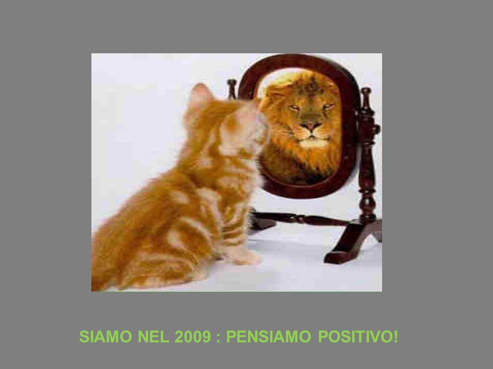 SIAMO NEL 2009 : PENSIAMO POSITIVO!
