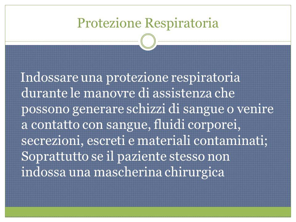Protezione Respiratoria