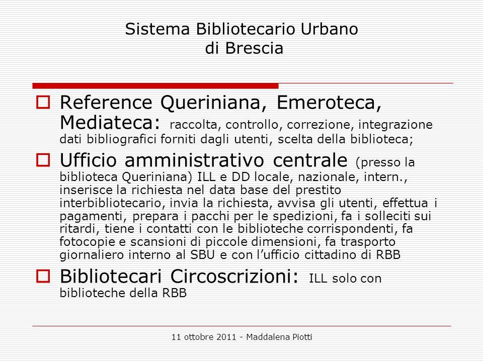 Sistema Bibliotecario Urbano di Brescia